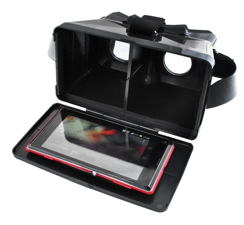 Okulary Gogle VR Virtual Reality Efekt 3D 360° Box