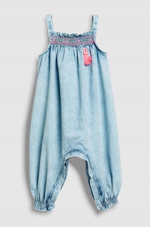 NEXT_ CUDNY KOMBINEZON_ jeans_1,5-2L_ 92cm NOWy