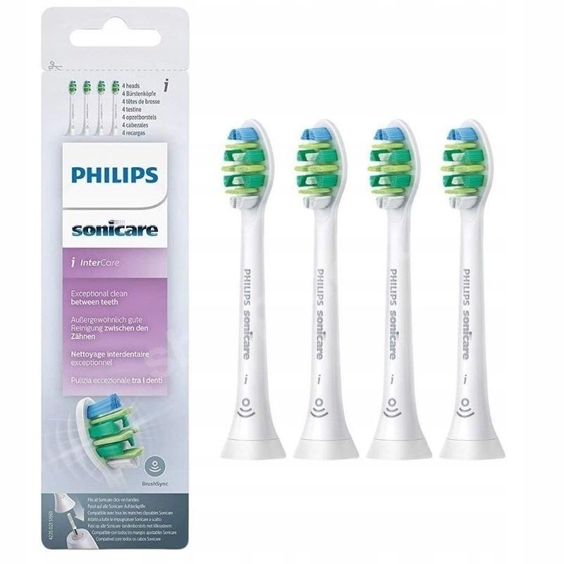 Końcówki Philips Sonicare InterCare 4szt ORYGINAŁ