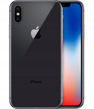 Apple iPhone X 256 GB gwiezdna szarość MQAF2PM/A