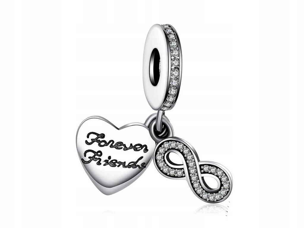Charms Do Pandora Forever Friends Przyjaciele 925 8299709774
