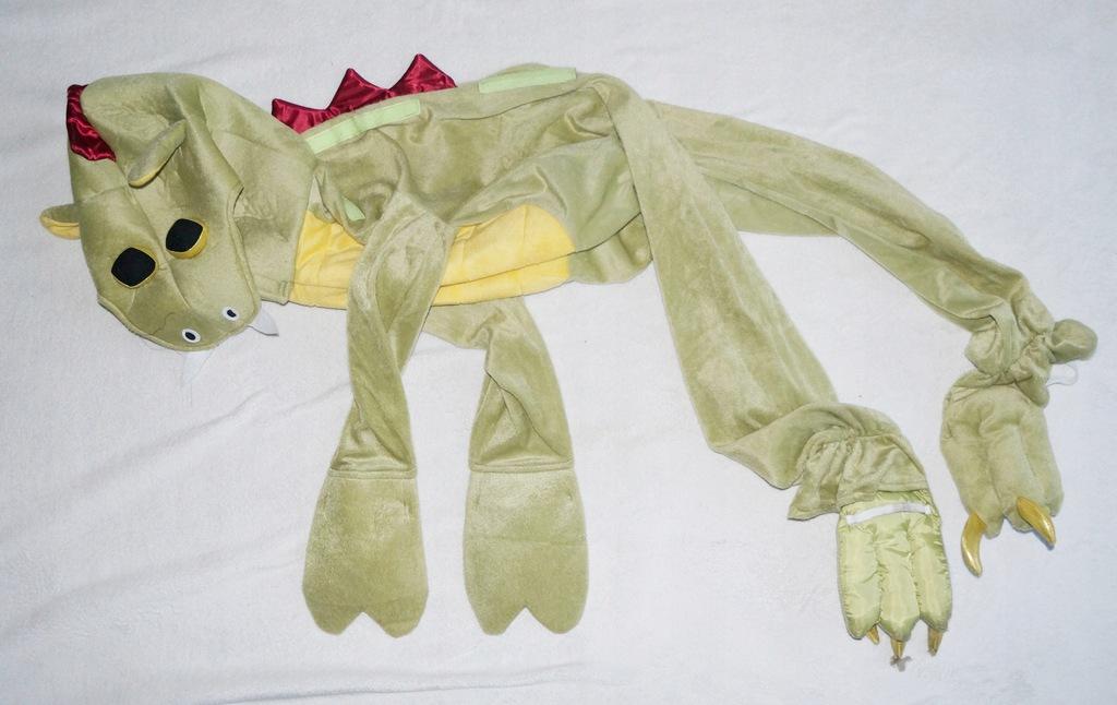 Kostium Pluszowy Smok 140 cm