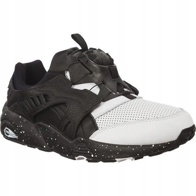 Czarne buty sportowe męskie z gumy Puma, kolekcja wiosna 2019