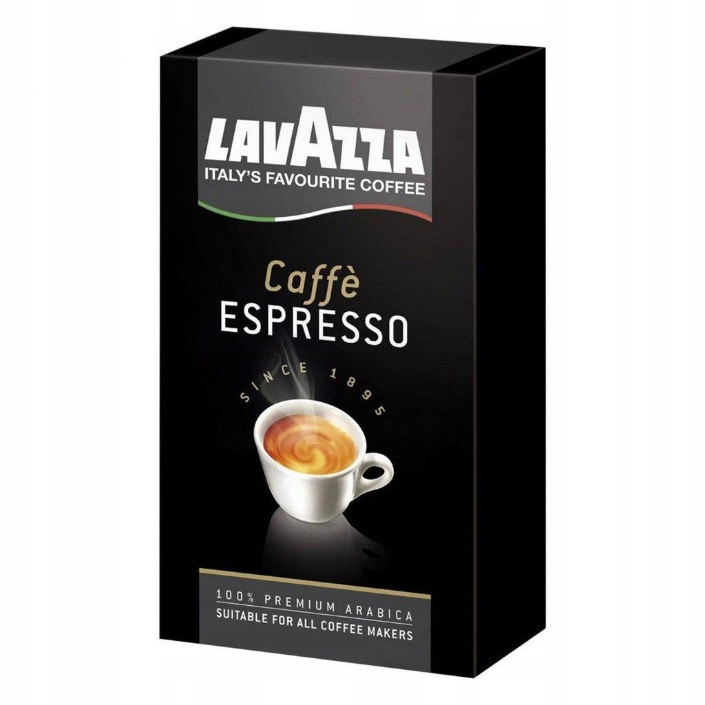 Lavazza Caffe Espresso 250 g kawa mielona