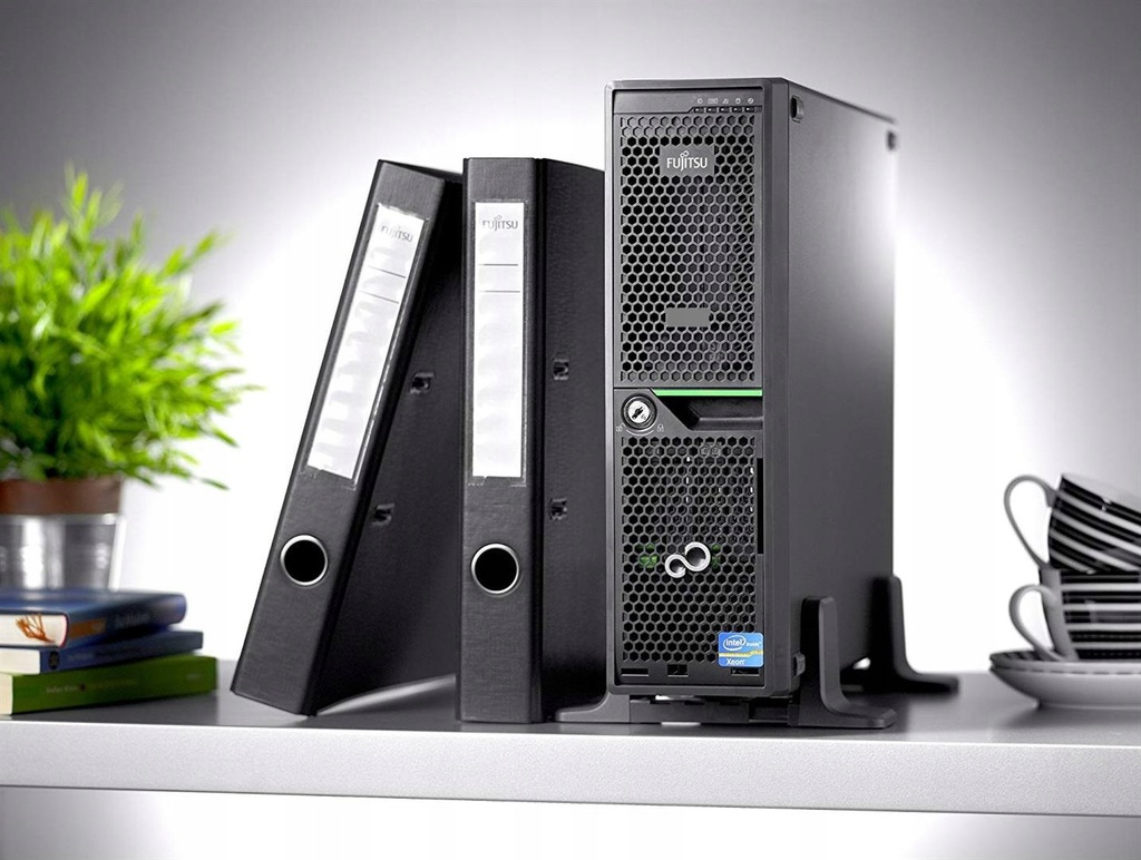 Mini Serwer Xeon 13,2Ghz 256 SSD 4x 450GB SAS 32GB