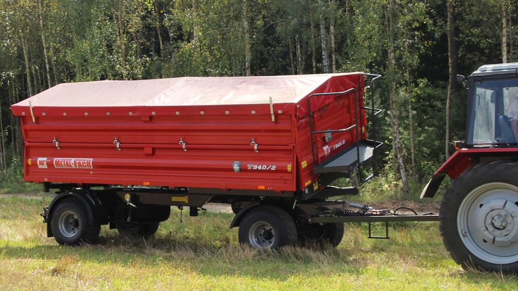 Przyczepa Rolnicza T940 METAL-FACH NOWA