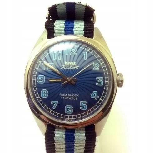 Zegarek HMT Pilot na licencji Citizen