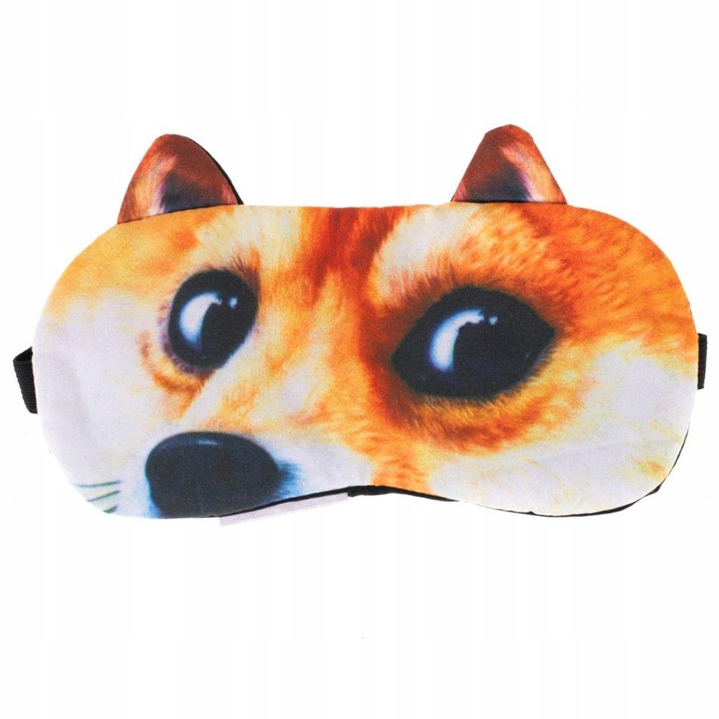 Opaska na oczy maska do spania wzory