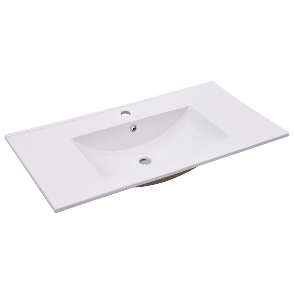 Umywalka wpuszczana, 90,5 x 46,3 x 17,5 cm, cerami