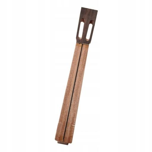 Mahoń szyi puste Drewna