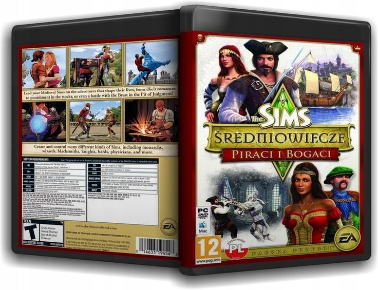 The Sims Sredniowiecze Medieval Dodatki 8288617884 Oficjalne Archiwum Allegro