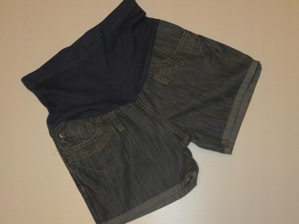 36 S Spodenki Szorty ciążowe krótkie Jeansy 5.20