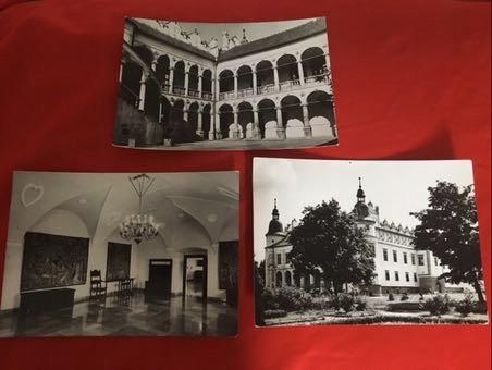 Zestaw pocztówek Baranów zamek