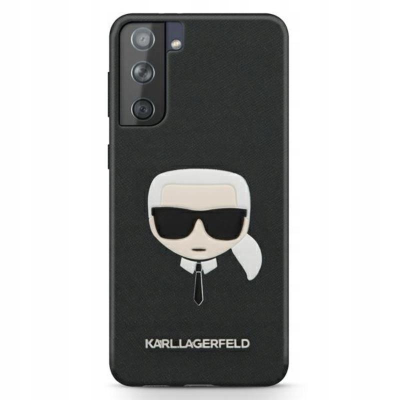 Karl Lagerfeld Saffiano Ikonik Karl`s Head - Etui