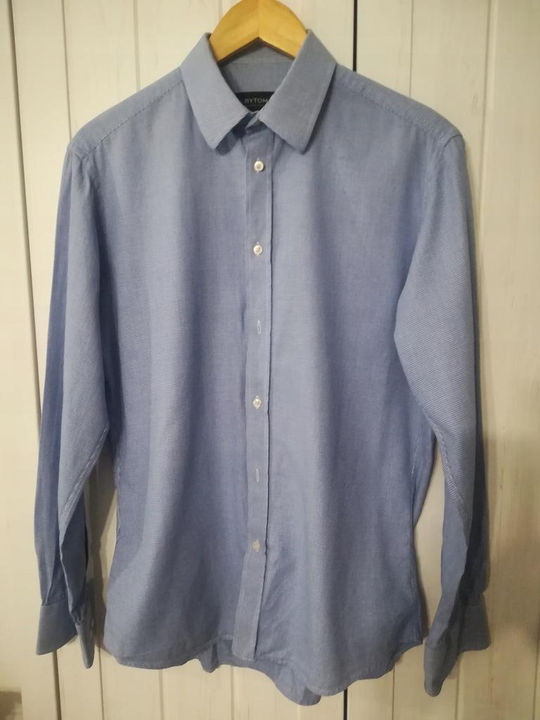 koszula bytom 40 niebieska slim 7864921901 oficjalne  eUppq