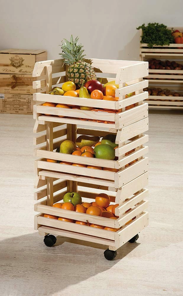 Wózek na owoce i warzywa Inter Link 60100400