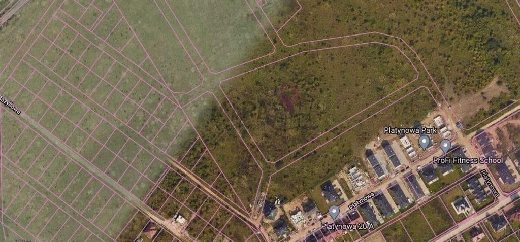 Działka, Bezrzecze, 802 m²