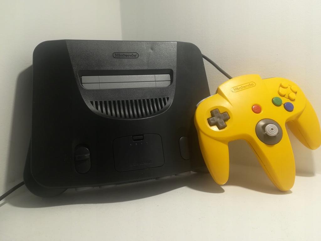 Konsola Nintendo 64 / N64 / PAL / REAL FOTO