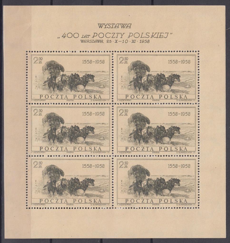 1958r. Fi. Ark. 921** 400 lat pełny wymiar 132x140