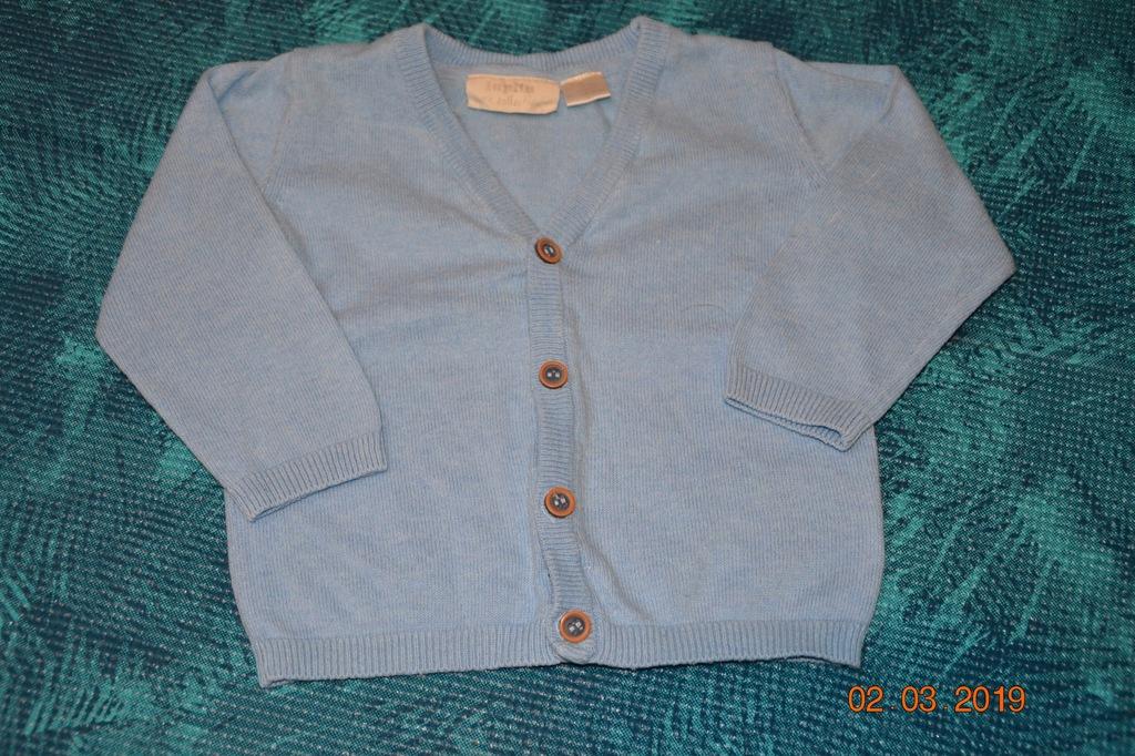 LUPILU dzianinowy sweterek rozm. 68