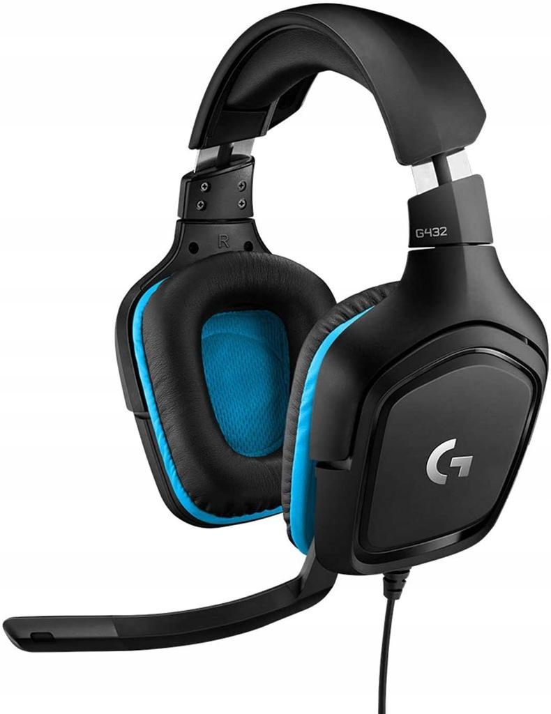 Przewodowe słuchawki do gier Logitech G432