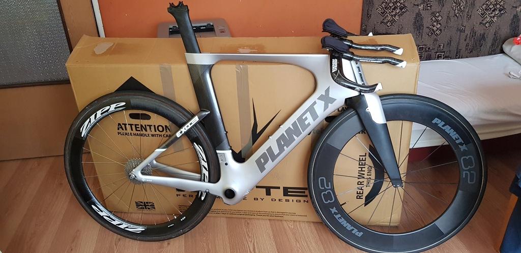ROWER TT Triathlonowy PLANET-X EXO3 czasowy