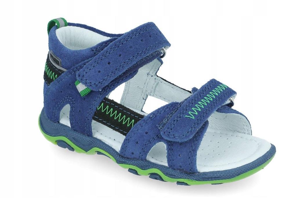 Sandały profilaktyczne BARTEK 71824 niebieski R25