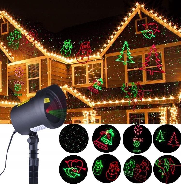 Projektor Laserowy Wodoodporny Swiateczny 8w1 7666589843 Oficjalne Archiwum Allegro