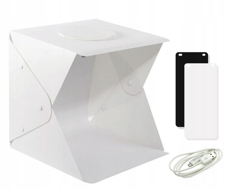 NAMIOT BEZCIENIOWY LED 40cm 43x44x45 cm 2 T�A BOX - 8193677500 - oficjalne  archiwum Allegro