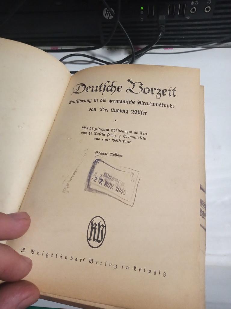 Archeologia Niemcy Przedwojenna