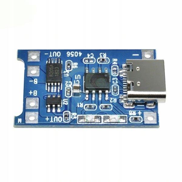 Zasilacz buforowy Ładowarka USB Type-C 1A TP4056