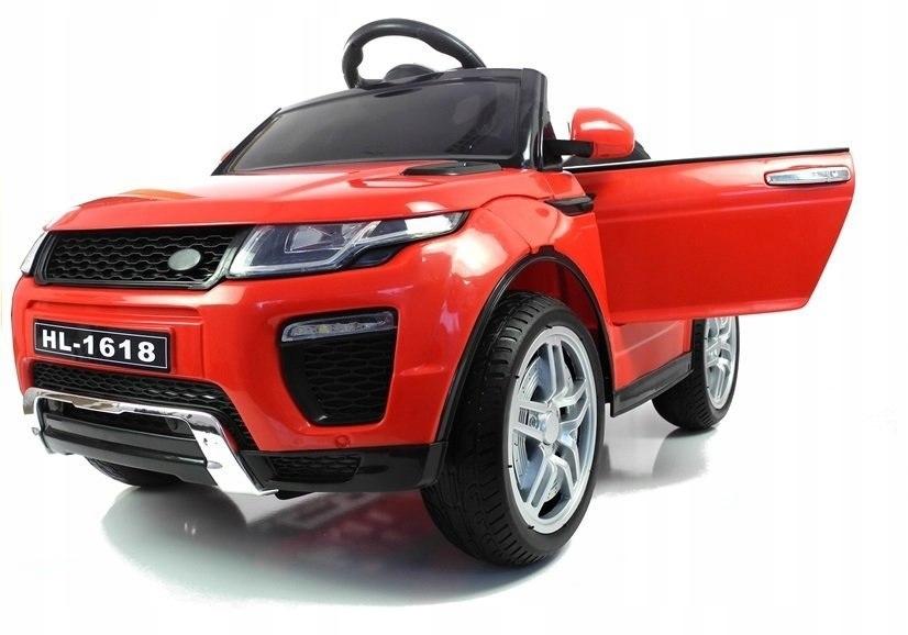 Auto na akumulator HL1618 Czerwone