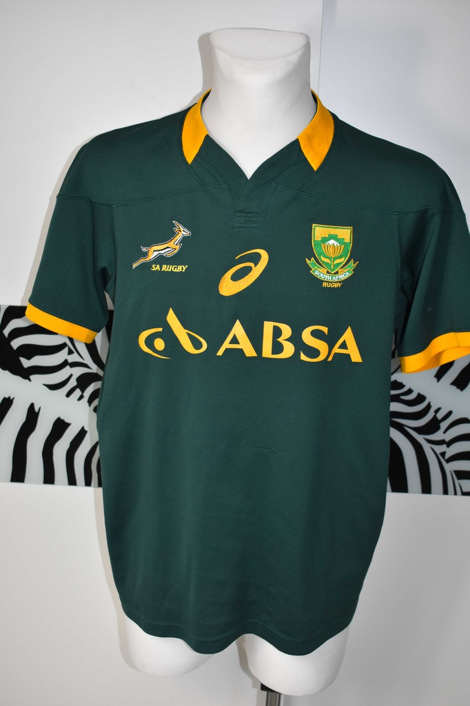 South Africa Rugby Union 2014 2015 asics koszulka