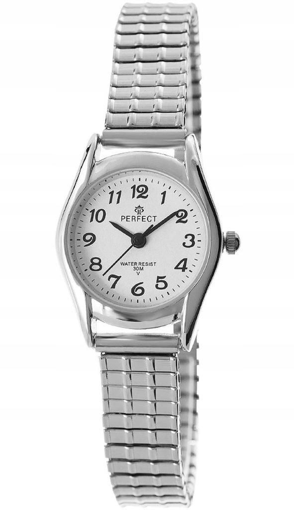 Zegarek Damski Perfect X133-1 Stretch Srebrny