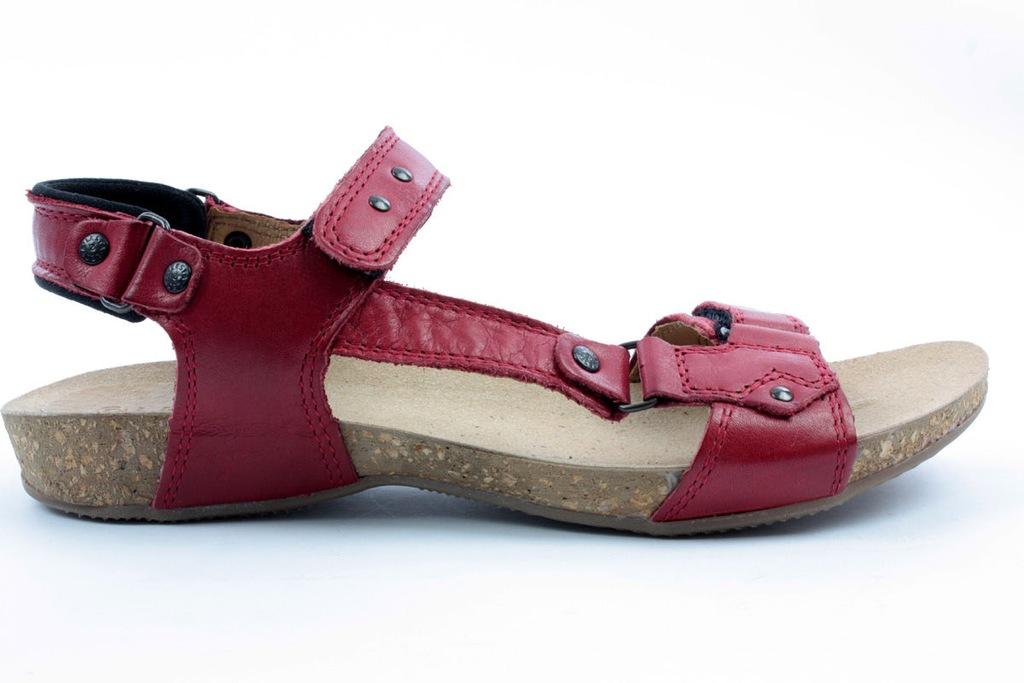 Sandały Lesta 1128 czerwony