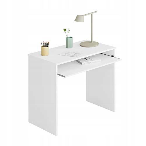 Biurko komputerowe Fores i-Joy białe