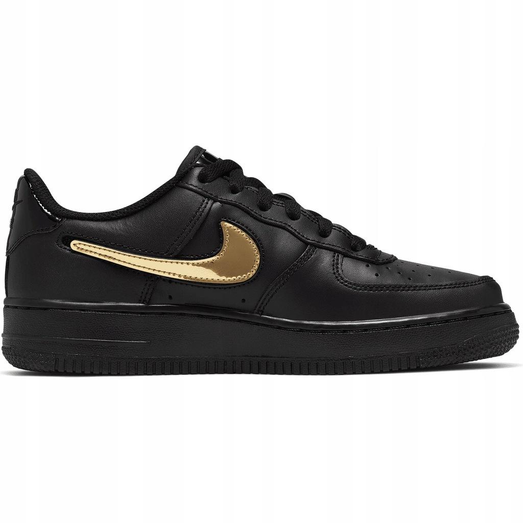 Buty męskie Nike Air Force 1 '07 Low Czarne r.40
