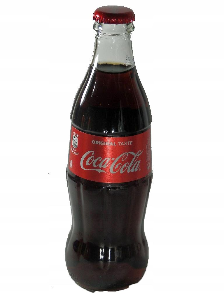 Coca Cola Napoj Gazowany Butelka Szklana 8902812346 Oficjalne Archiwum Allegro