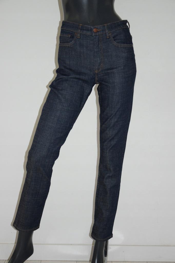 cos granatowe spodnie jeans bawełna r. 27/S