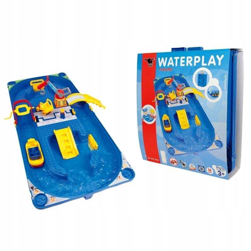 BIG Duży Tor Wodny Funland z serii Waterplay + Sta