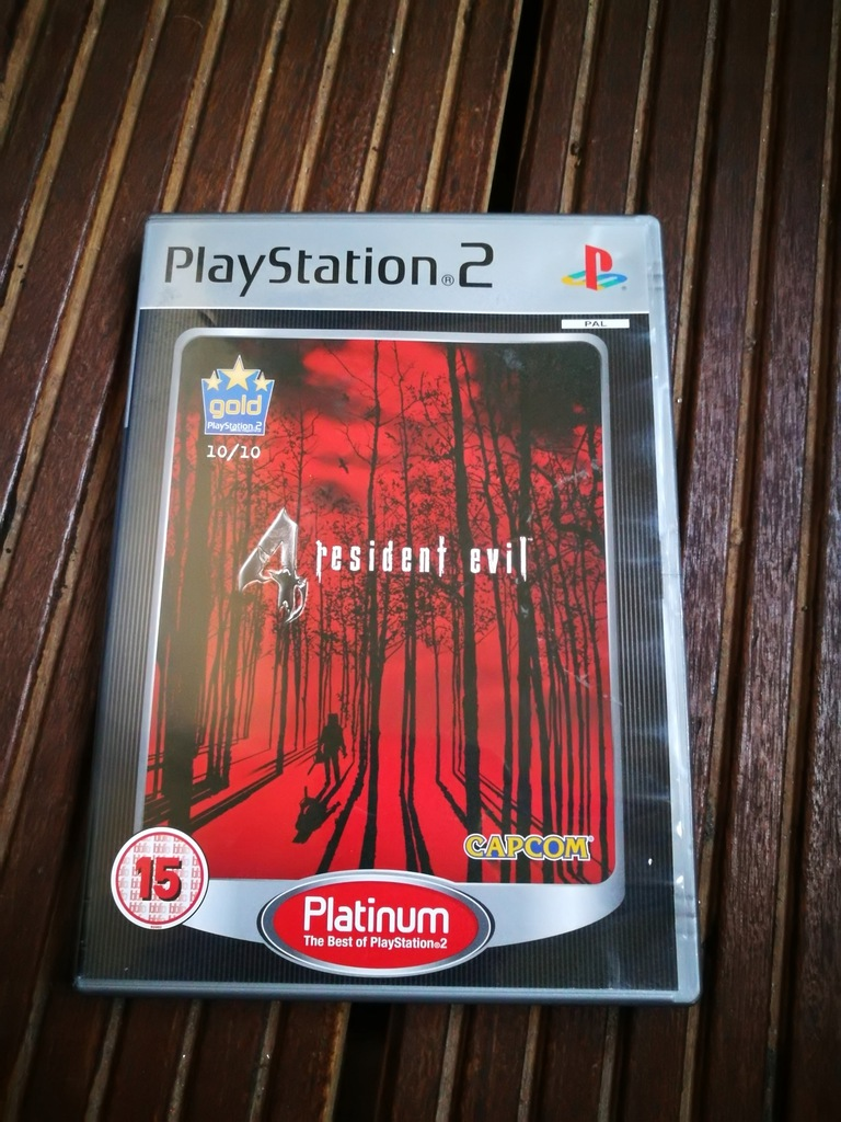 PlayStation PS2 gra Resident Evil 4 aw