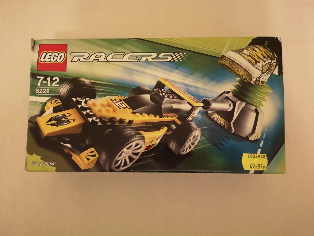 JAK NOWE! LEGO RACERS STING STRIKER 8228