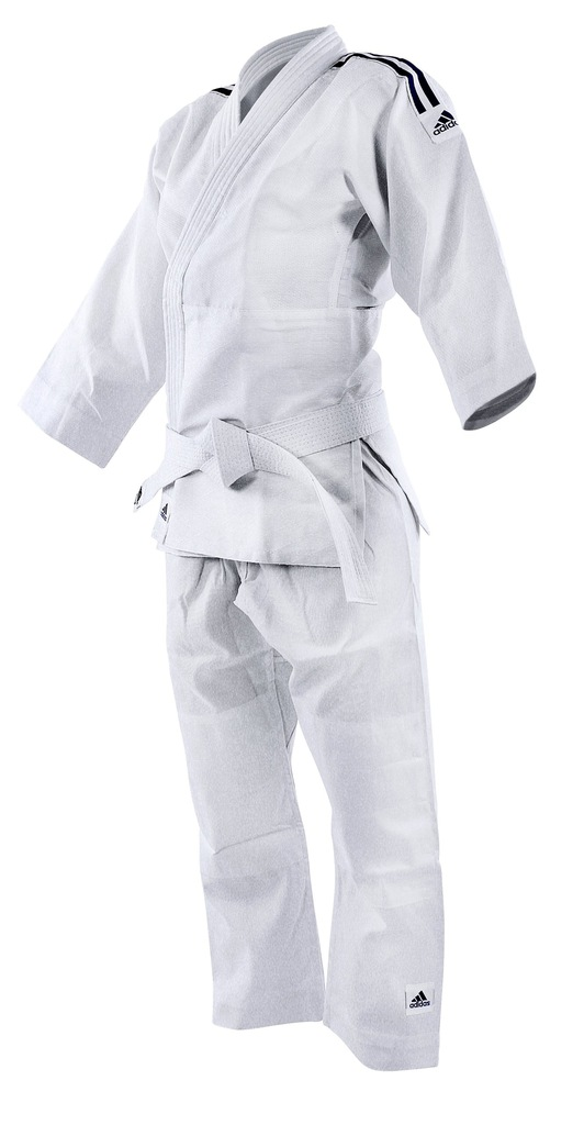 Judoga Adidas Evolution II J250E Biały 110120 cm