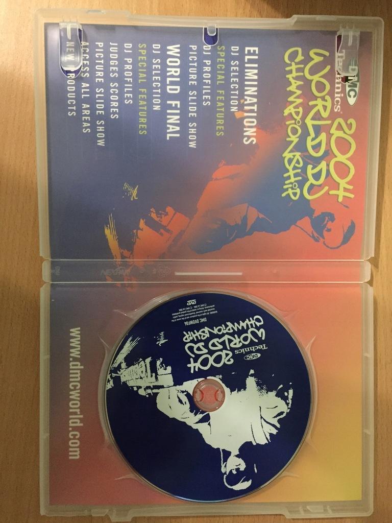 DMC Technics 2004 WORLD DJ CHAMPIONSHIP RANE DVD