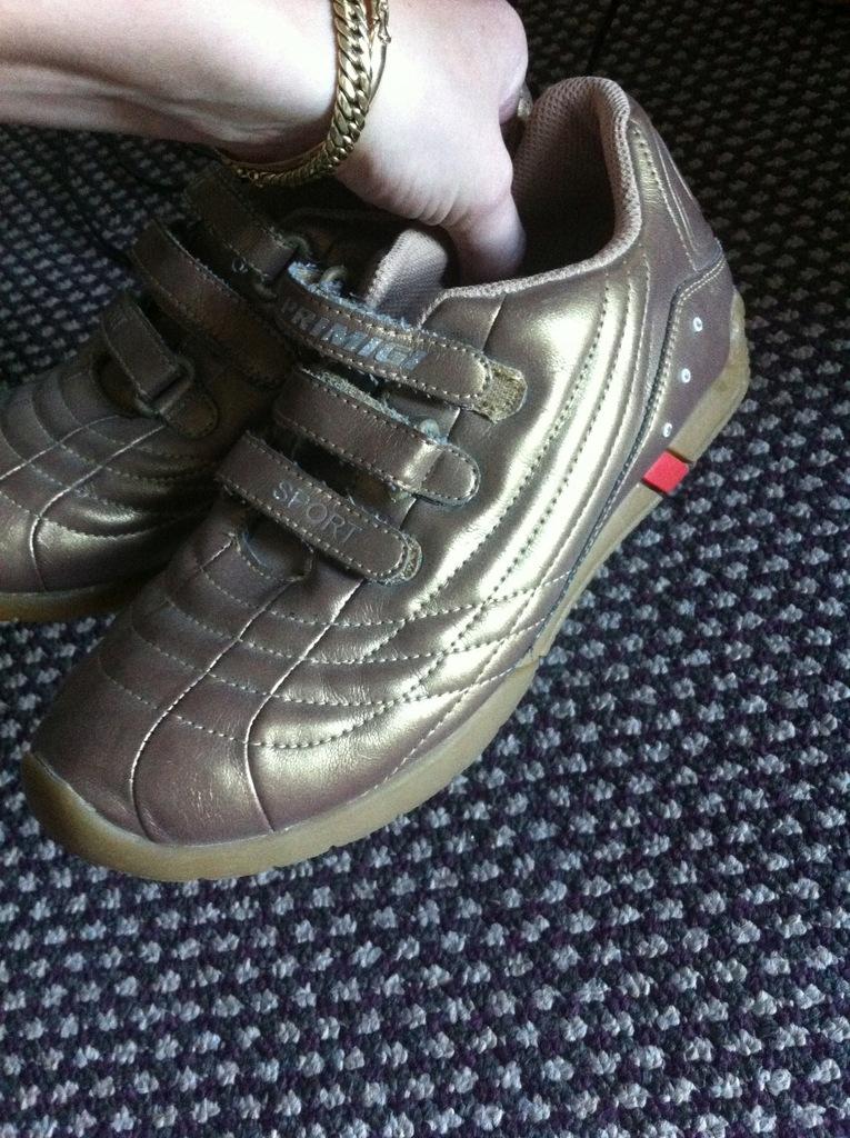 Primigi Sport buty dla dziewczynki ZŁOTE