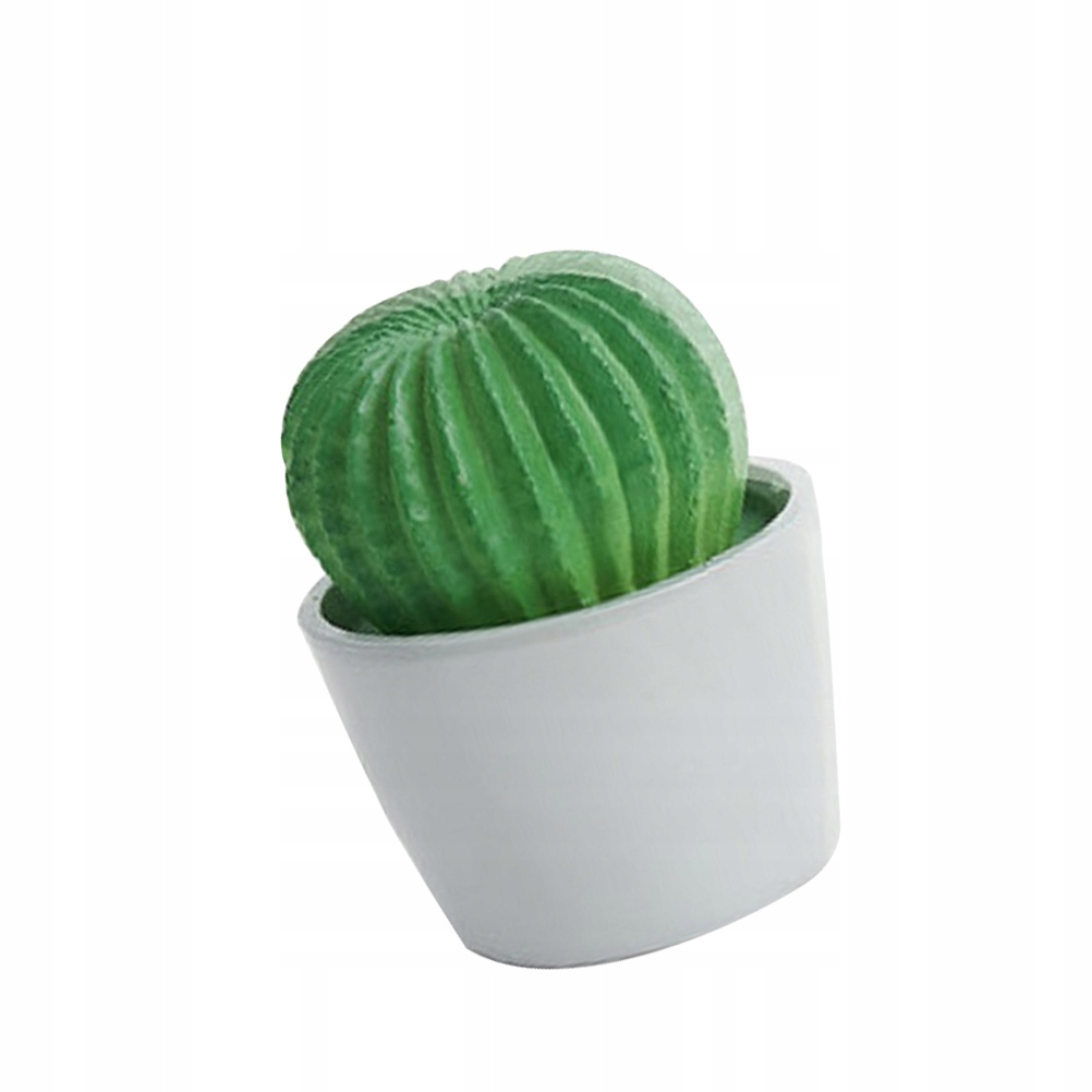 Chic Cactus Potted Plant Light Unique Desktop Lamp