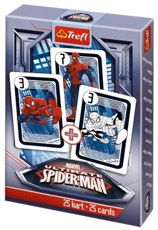 Karty PIOTRUŚ gra karciana Trefl Marvel SPIDERMAN