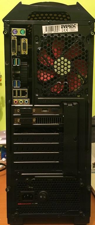 Komputer stacjonarny, i7-8700, GTX 1060, 16GB RAM