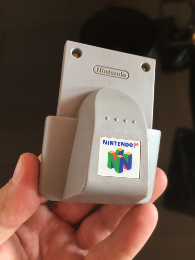 Nintendo 64 rumble pak NUS-013 sprawny