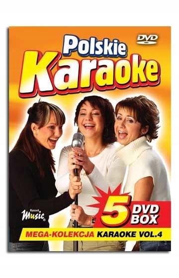 DVD POLSKIE KARAOKE VOL.4 BOX